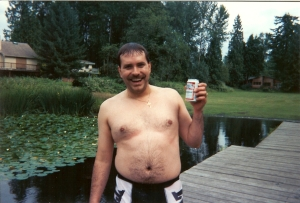 Approx. 1993. 29 yrs old, approx. 220 lbs.