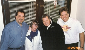 Your author, step-mother Terri, my Dad Jerry Schuett, and brother Jeff.