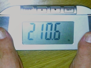 I went from 245lbs in May to 210lbs in February with AdvoCare, achieving a weight not seen by my scale since 1987.