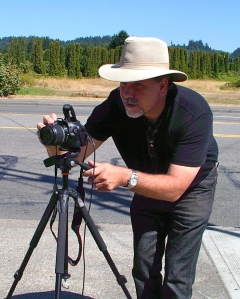 Total Broadcasting owner Michael Schuett does most of the camera work provided to customers, both still and video.